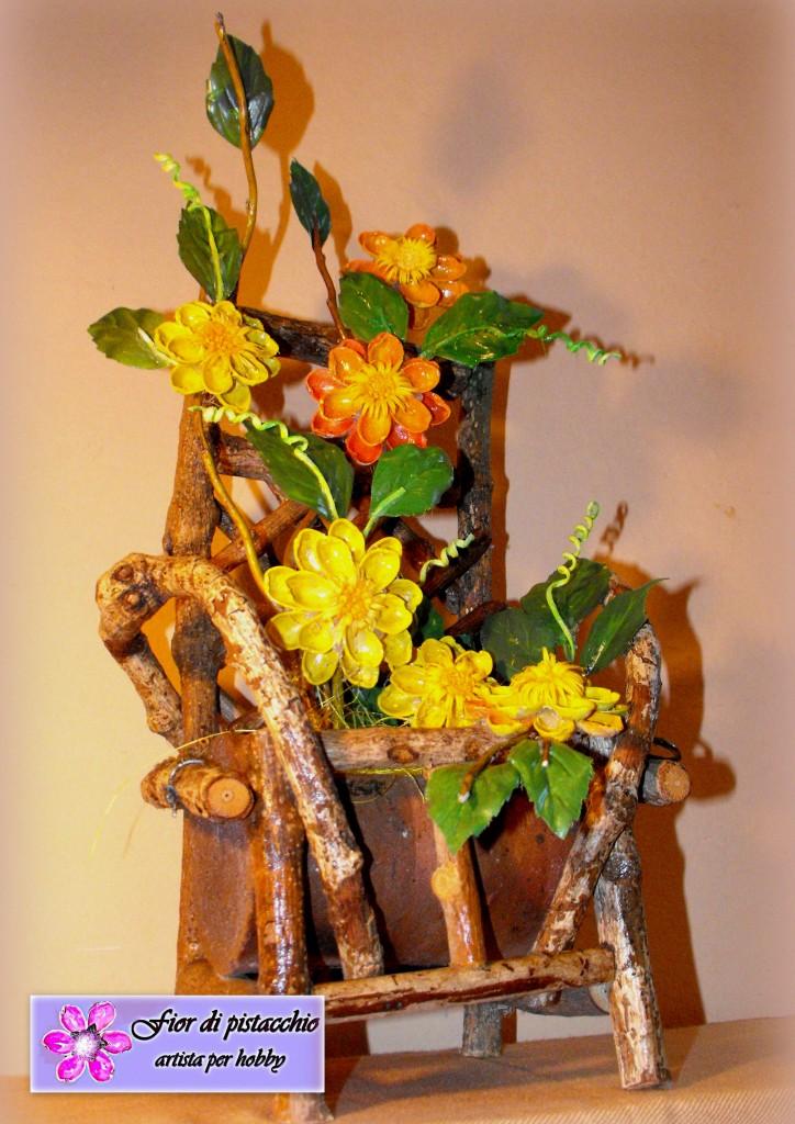 Arredamento casa composizioni floreali fatte a mano for Arredamento originale casa