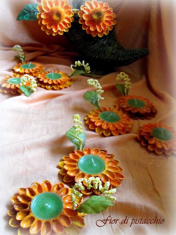 Idee regalo portacandele artigianali fior di pistacchio for Arredamento regalo