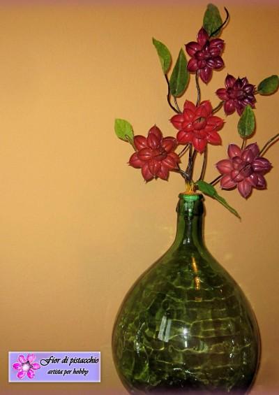 Arredamento casa decorazioni vasi con fiori fatti a mano for Idee regalo per la casa originali