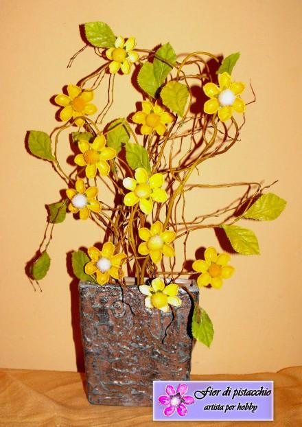 Arredamento casa composizioni floreali fatte a mano for Oggetti per la casa originali