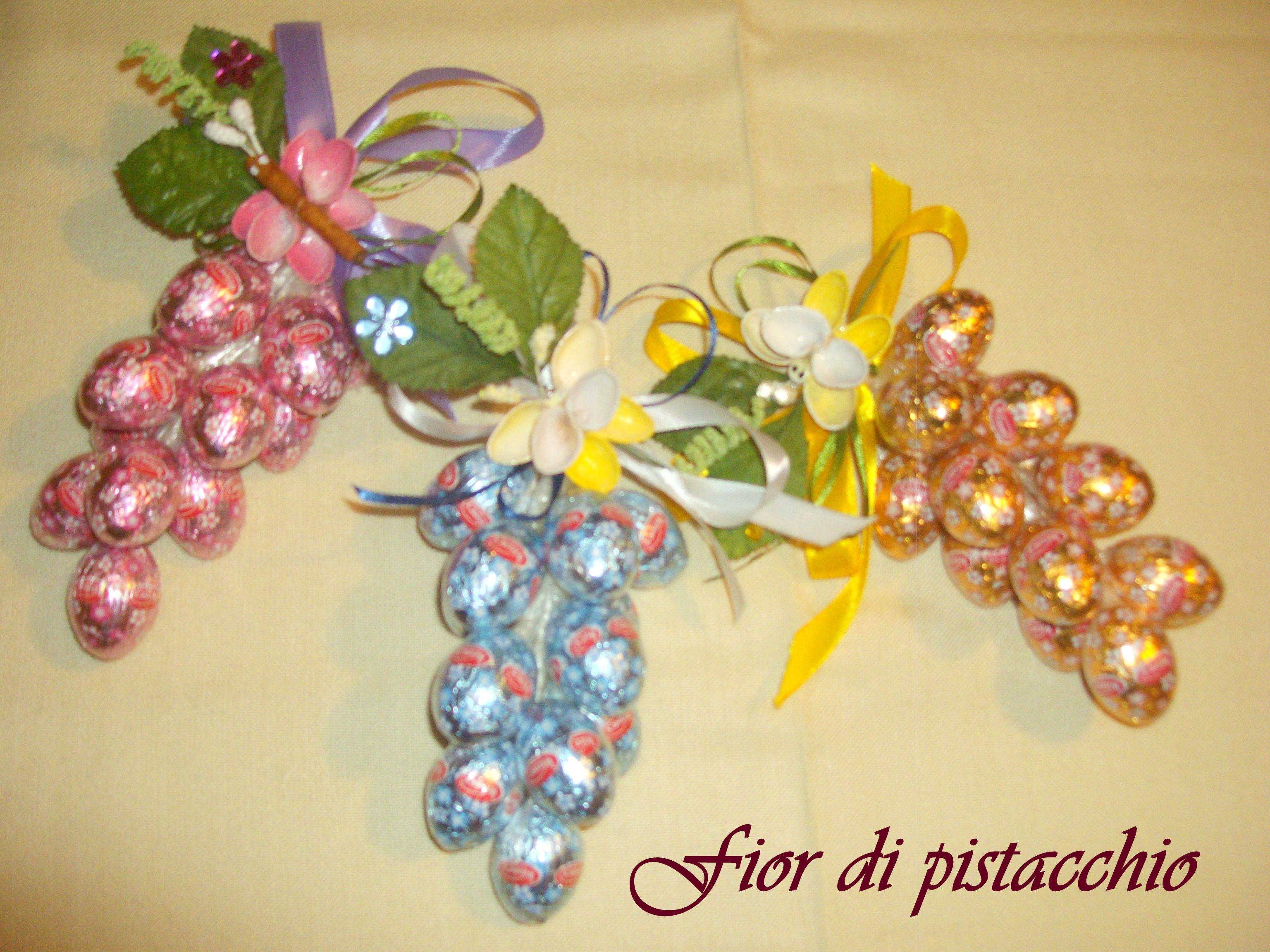 Grappoli d uova di cioccolato pasqua 2015 fior di - Uova di pasqua decorati ...
